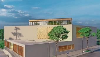 Das geplante Kultur- und Begegnungszentrum «Tulipan» mit Moschee und Restaurant.