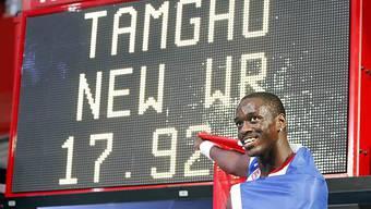 Teddy Tamgho verpasst den olympischen Dreisprung-Wettkampf