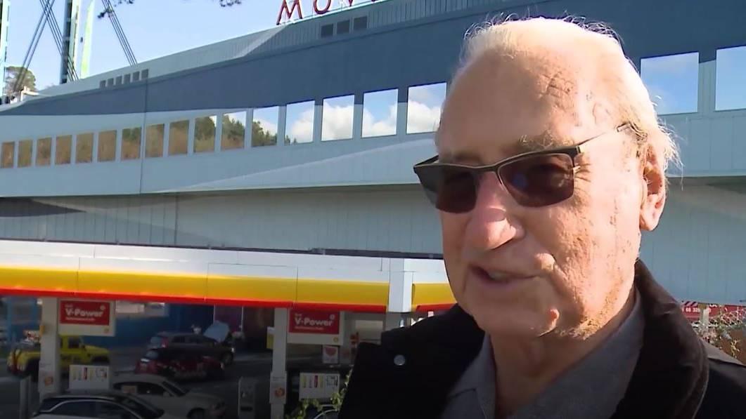 Mit Anton Möckel an der Einweihung: Er war bereits vor fast 50 Jahren an der Eröffnung der Autobahn-Raststätte dabei