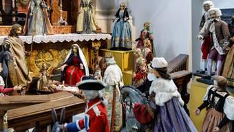 Die Ambassadorenkrippe ist jedes Jahr in der Jesuitenkirche zu bewundern.