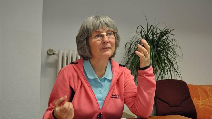 «Hope»-Geschäftsleiterin Daniela Fleischmann sucht Wohnungen. (Archiv)