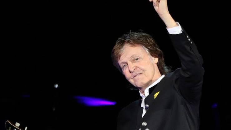 Paul McCartney gibt das zweite Mal innert einer Woche ein geheimes Gratiskonzert. (Archivbild)