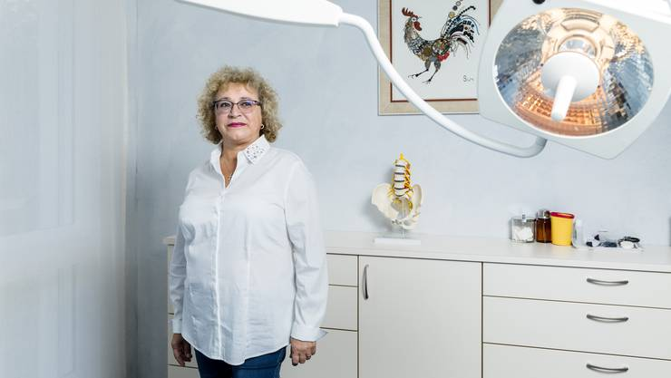 Mirela Armean: «Wir haben alle Hände voll zu tun.»