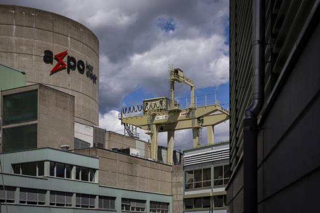 Das Kraftwerk: Auf der Aareinsel bei Döttingen betreibt die Axpo zwei Reaktoren.
