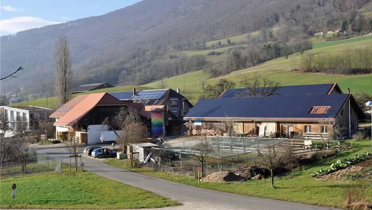 Arbeitet jetzt zu einem guten Teil mit eigenem Strom: Die sozialtherapeutische Institution Buechehof in Lostorf.