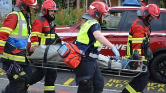 Feuerwehrübung Altersheim Windisch