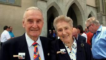 Ex-Schweizergardisten feierten den 50. Geburtstag