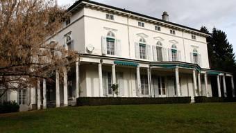 Charlie Chaplin lebte von 1953 bis 1977 in diesem Haus in Corsier-sur-Vevey (Archiv)