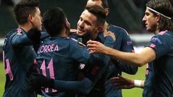 Atlético Madrid gibt sich in der Europa League keine Blösse