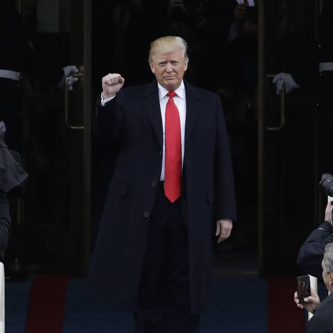 Die Vereidigung von Donald Trump