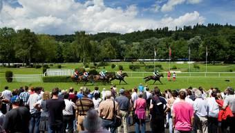 Abgesagt: Die Frühlings-Pferderennen im Aarauer Schachen.