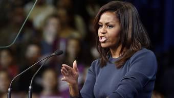 """Michelle Obama: """"Keine Frau verdient es, so behandelt zu werden"""""""
