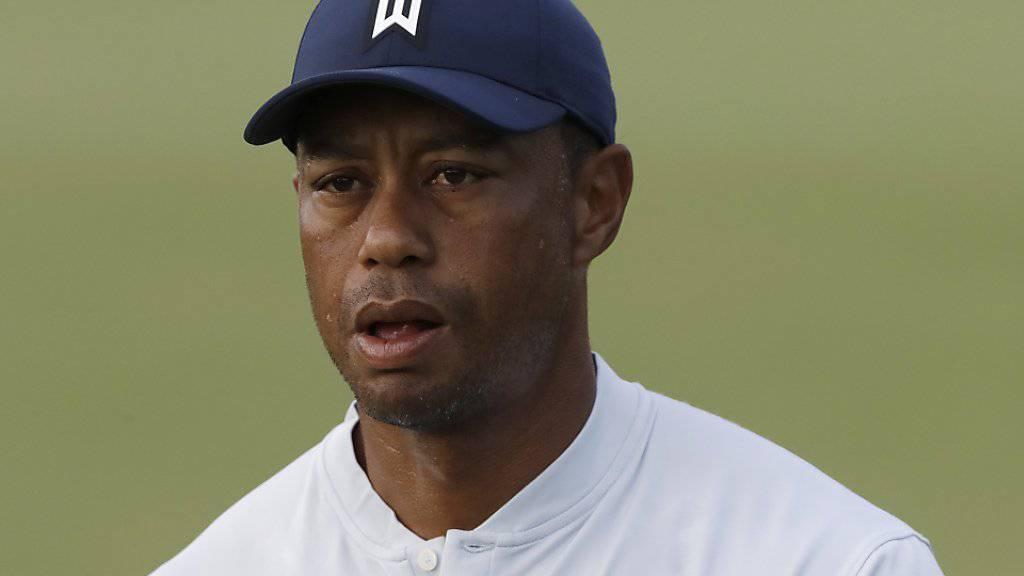 Für Tiger Woods läuft es momentan nicht mehr rund