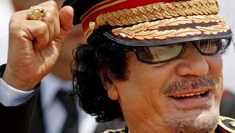 Libyiens Diktator Gaddafi