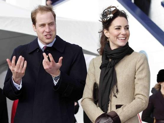 Das Traumpaar des englischen Königshauses: William und Kate