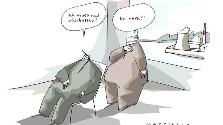 Cartoons von Ernst Mattiello