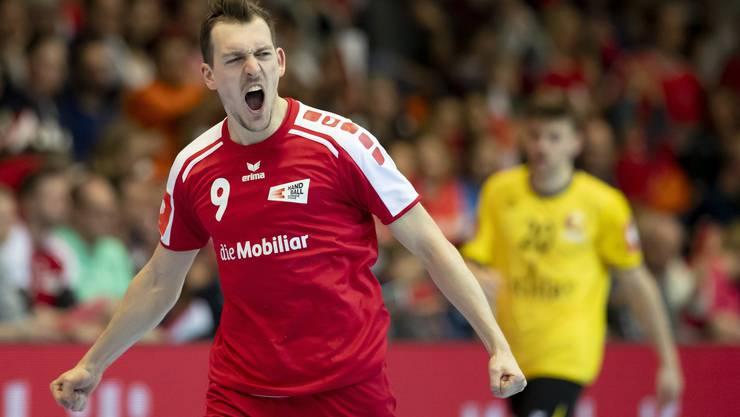Marvin Lier wechselt für die kommenden drei Monate in die Bundesliga zu Meister Flensburg-Handewitt.