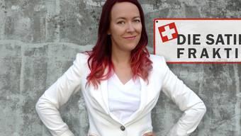 """Die Berner Komikerin Lisa Catena will die Schweizer Satire bissiger, böser und schneller machen. Am 20. September startet ihr Radioformat """"Die Satire-Fraktion"""". (Pressebild)"""