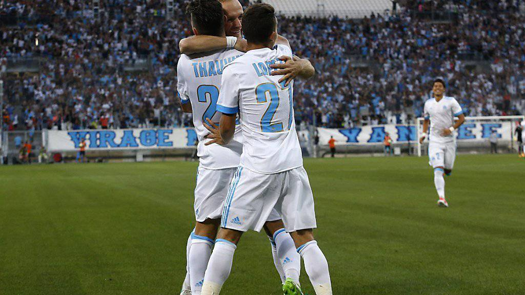 Startete mit einem lockeren 3:0 gegen Dijon in die Ligue-1-Saison: Olympique Marseille