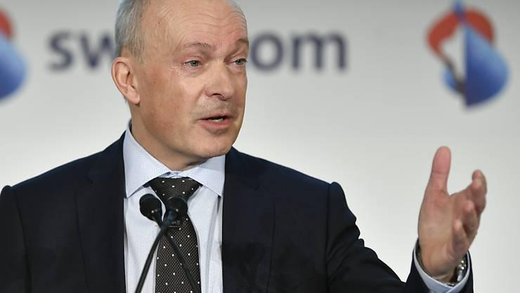 Swisscom-Chef Urs Schaeppi will dieses Jahr weitere Einsparungen erzielen.