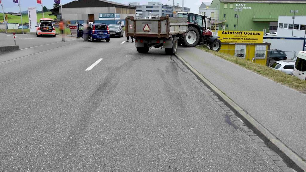 Kurznachrichten: Unfälle mit Verletzten, Brand wegen Blitz