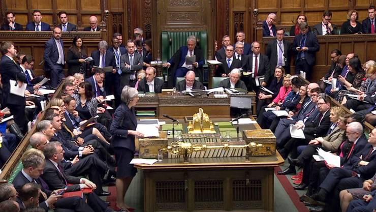 Die britische Premierministerin Theresa May hat einen Rücktritt für die Zeit nach dem Brexit in Aussicht gestellt.