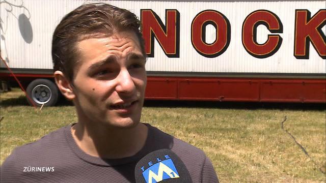 Nach 8m-Sturz: Francesco Nock spricht über den Zirkus-Unfall