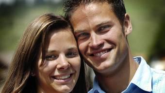 Glückliche Eltern: Ladina und Renzo Blumenthal (Archiv)