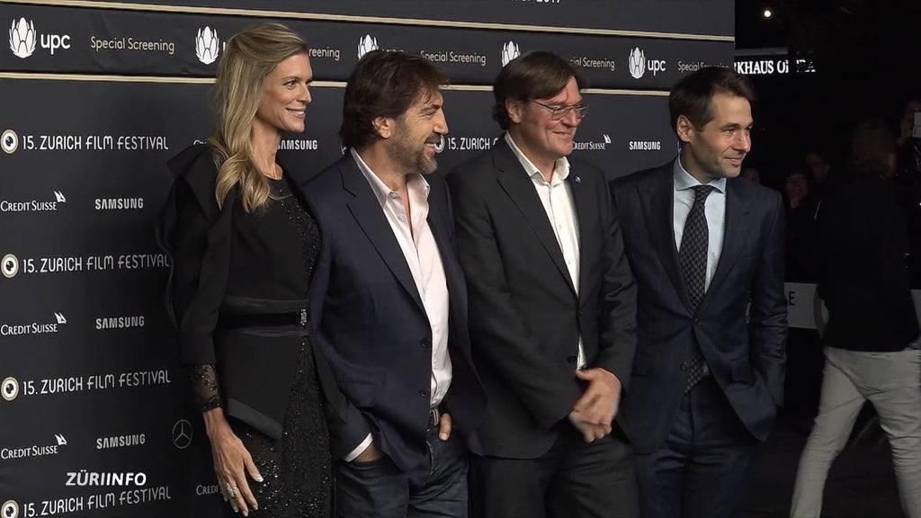 Javier Bardem am Zürich Film Festival