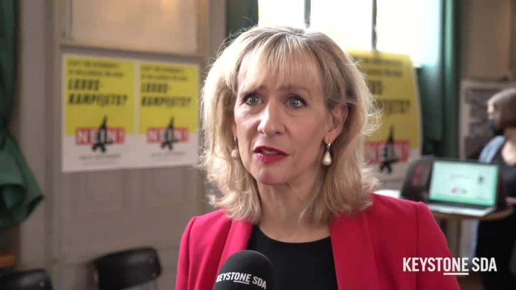 Priska Seiler Graf: «Bemerkenswert, dass noch kein Trend zu Kampfjets vorliegt»