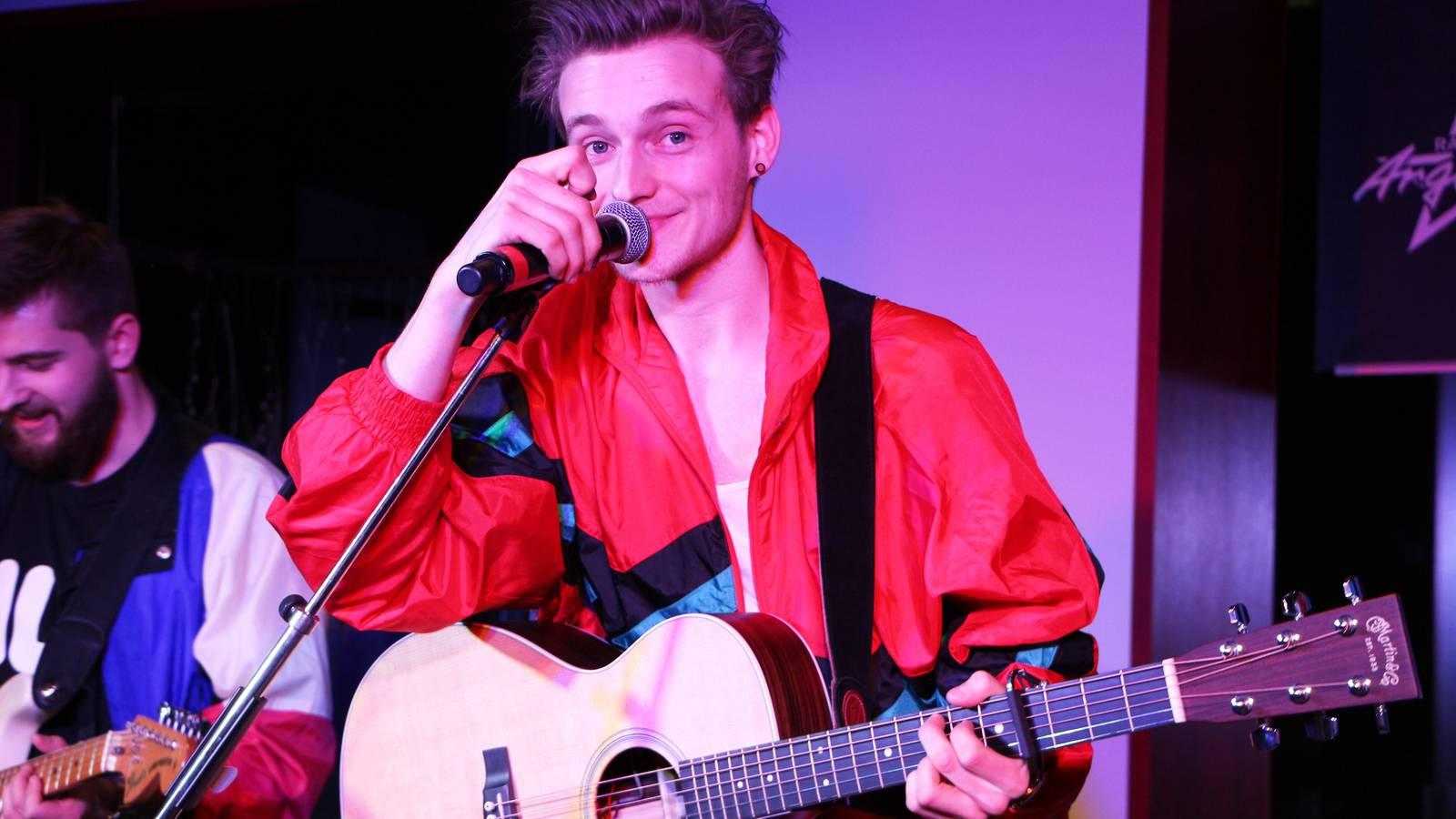 Nickless Nick Mellow Live Session (© Radio Argovia)