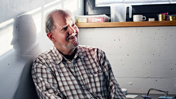 Peter Kneubühl beim Interview im Februar 2020 in seiner Zelle im Regionalgefängnis Thun.