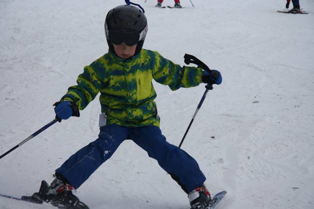 Der Stemmbogen - Beginn jeder Skifahrerkarriere