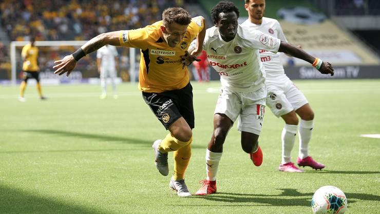 Koné und Servette stellten auch Sulejmani und Meister YB vor grosse Probleme. Im Stade de Suisse holte der Aufsteiger ein 1:1.