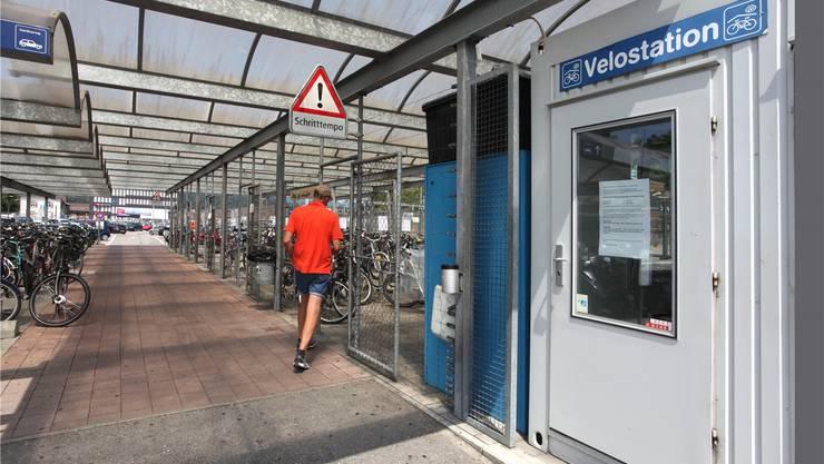 Velostation am Bahnhof Olten. (Archiv)