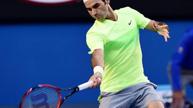 Federer mit Schwung zu Sieg-Nummer 2001