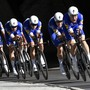 Das belgische Team QuickStep Floors gewann am Sonntag in Innsbruck WM-Gold im Mannschaftszeitfahren