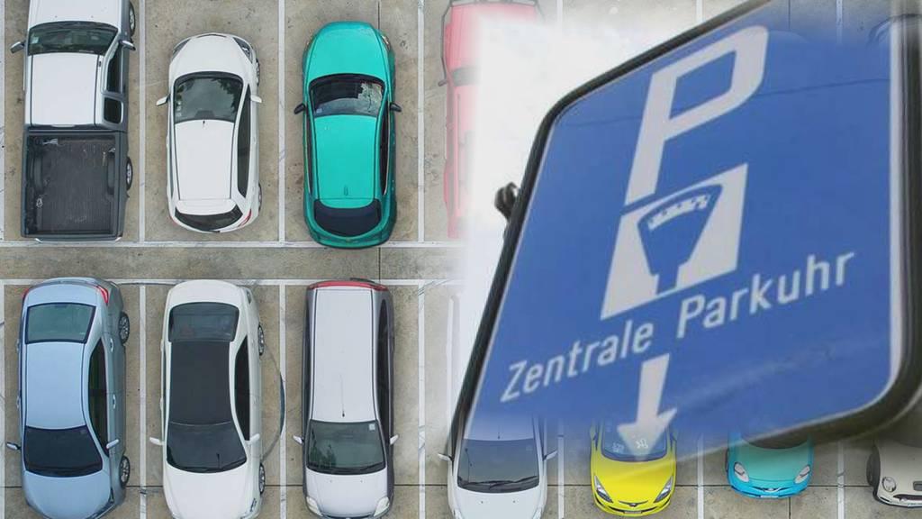 Zug: Parkgebühren mit Twint bezahlen