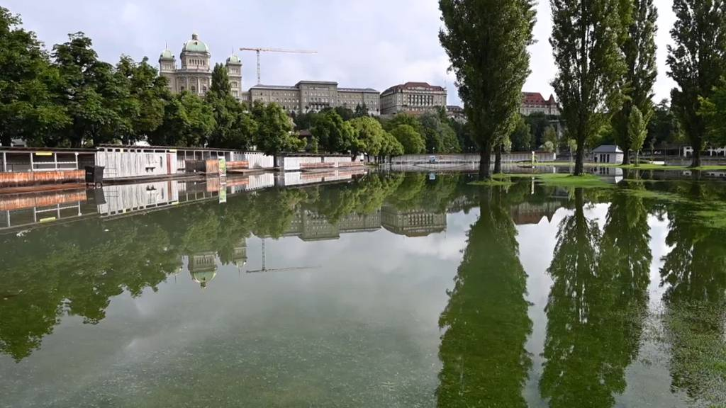 Aare-Hochwasser: Situation in Bern