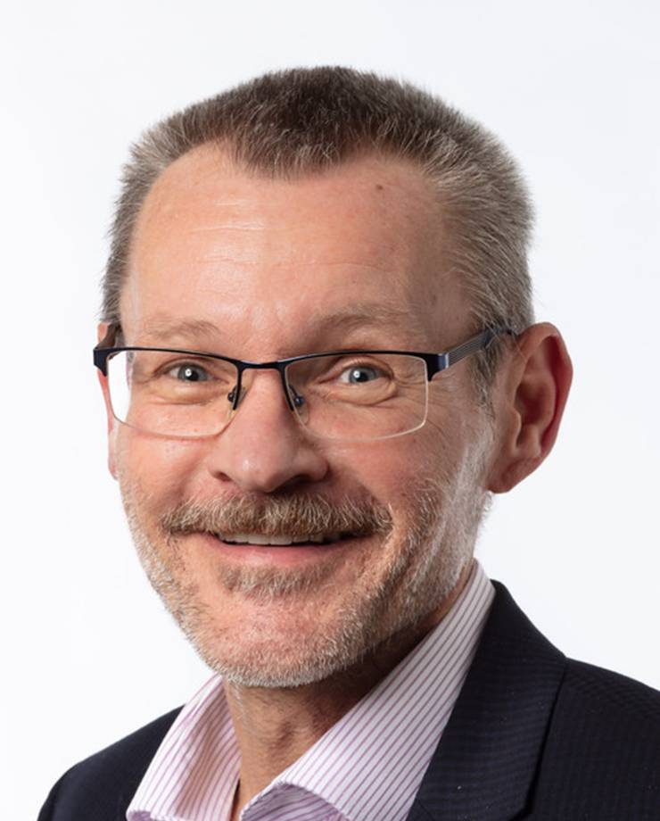 Jörg Pfister, Rektor Bereich Grundbildung an der KV Wirtschaftsschule Baden