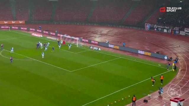 Super League, Saison 2018/19, Runde 19, GC - FC Basel, 0:2 Ricky van Wolfswinkel (Assist: Kevin Bua)