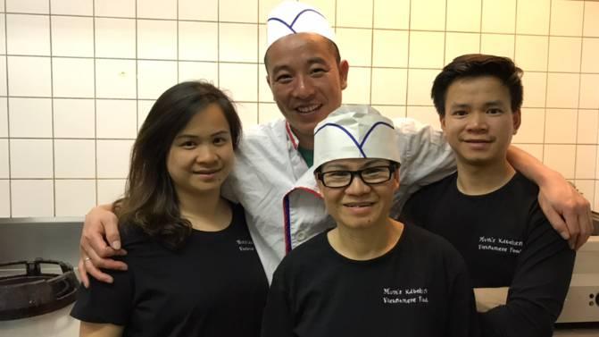 Familien Dang und Nguyen