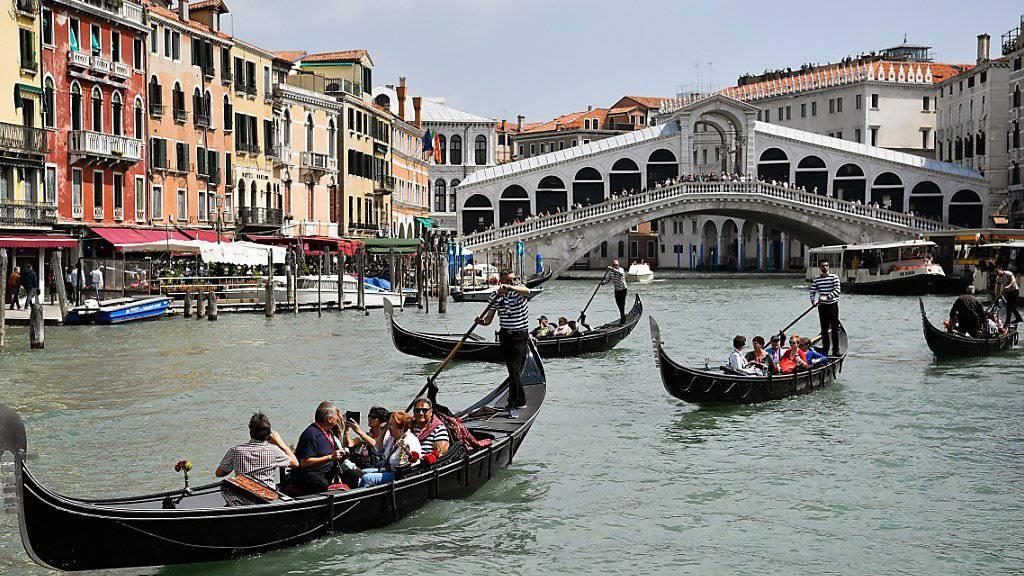 Zwei kleinere italienische Banken aus der Region Veneto stehen vor dem Aus. (Symbolbild von Venedig)