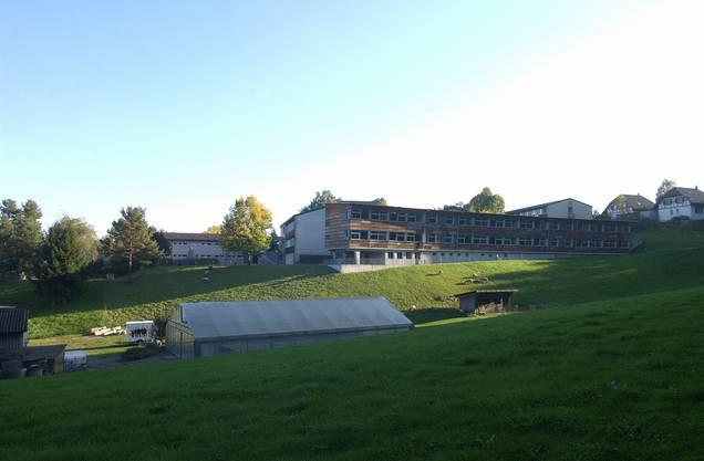 Das Schulheim umfasst die schulische Vorstufe, eine Sonderschule, ein Internat und ein Wohnheim mit Beschäftigung.