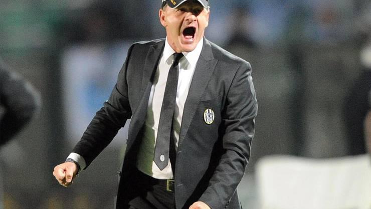 Schreit in Zukunft an der Seitenlinie der Fiorentina: der neue Trainer Giuseppe Iachini