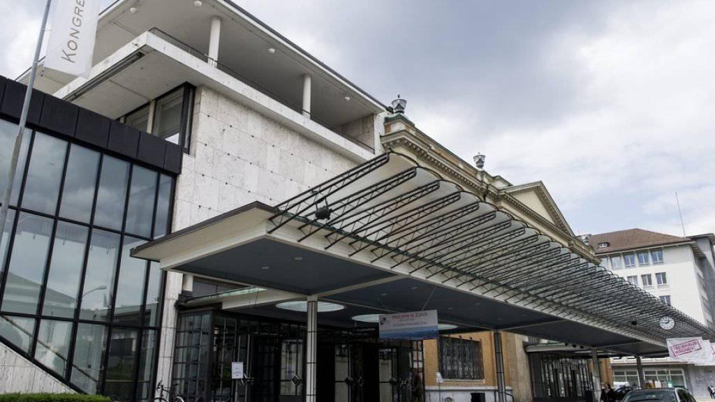 Das Kongresshaus in Zürich in einer Aufnahme vom Juni 2013.