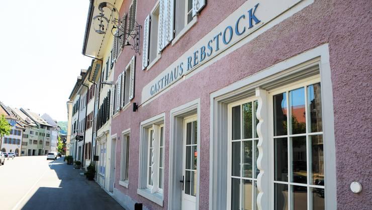 """Der """"Rebstock"""" im Klingnauer Städtchen ist zurzeit geschlossen."""