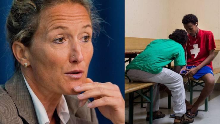 Susanne Hochuli äussert sich über die Asylbewerber-Attacke auf eine junge Frau in Aarau.