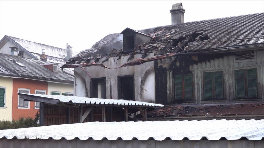 Todesopfer nach Hausbrand in Schwanden