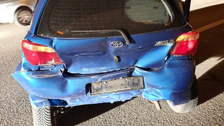 Ein 37-jähriger Lenker bemerkte zu spät, dass der Verkehr stockte. Er prallte in das vor ihm stehende Auto.